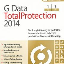 g data Total Protection 2014 1PC 1Jahr