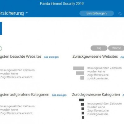Panda Internet Security 2016 – Kindersicherung