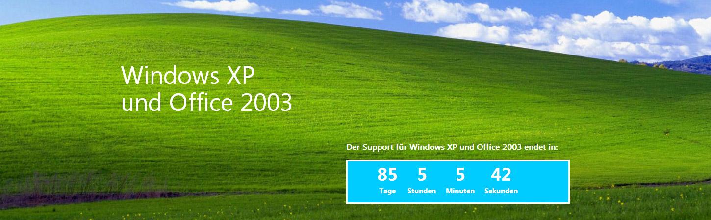 April 2014 ist schluss: Support für Windows XP wird eingestellt!