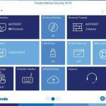 Panda Internet Security 2016 – Menü